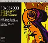 Penderecki: Streichtrio / Streichquartette Nr. 1-3 / Klarinettenquartett / Der unterbrochene Gedanke - Dafo String Quartet