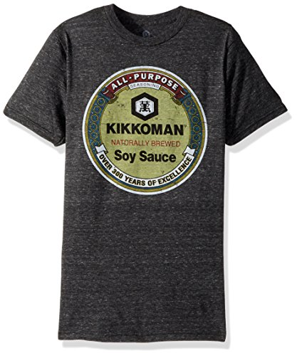 Kikkoman Soy Sauce All-Purpose Seasoning Adult T-Shirt - Black (X-Large)