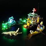 BRIKSMAX Kit de Iluminación Led para Lego Hidden Side Camaronero Encallado,Compatible con Ladrillos de Construcción Lego Modelo 70419, Juego de Legos no Incluido