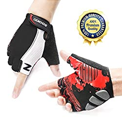 zooki gloves without fingers for cycling