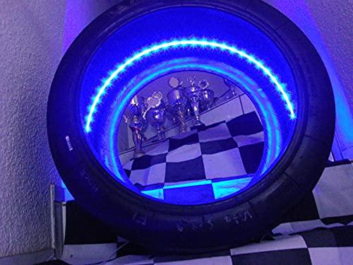 Race Tire Art Slick/Rennreifen, DTM, GT 3, Formel. mit LED Beleuchtung, Geschenke für Männer
