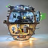 N&G Juego de Luces de decoración del hogar para Lego Star Wars Death Star 75159 Kit de iluminación LED Compatible con Lego Star Wars Death Star (Modelo Lego no Incluido)
