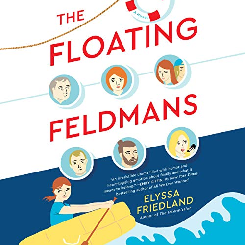 The Floating Feldmans audiobook cover art