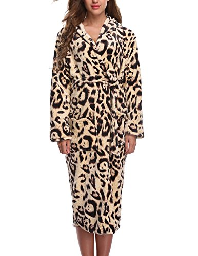 1stmall Fleece Robe, Long...