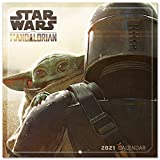 ERIK - Calendario de pared 2021 The Mandalorian Star Wars, 30x30 cm, Producto Oficial, (Incluye póst...