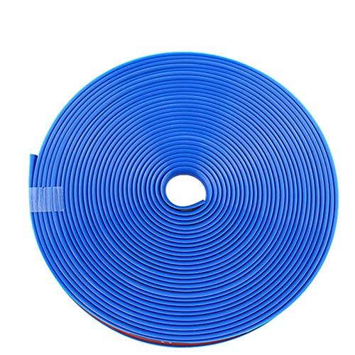 YIYEBAOFU Big HaHa Ajustar para 8m / Roll Car Styling Rueda Llantas Protector Decoración Strip Newer Guard Line Vehículo de Goma Color Guard Line para automóviles Auto Accesorios (Color : Blue)