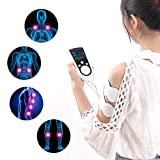 25 Pre-Set Modes and 50 Adjustable Intensity TENS Machine - Rechargeable Electrical Muscle