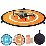 Hothuimin 55cm Landing Pad Drone Hélicoptère Parking Tablier Piste Décollage Atterrissage Hélisurface Pad Facile à Plier pour DJI Mavic 2 Pro / Mavic 2 Zoom / Mavic Air / Mavic Pro / Platinum / Spark