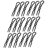 Black Lady U en Forme De Clip Grande Onduleux Chignon Simple Rapide Spiral Hair Braid...