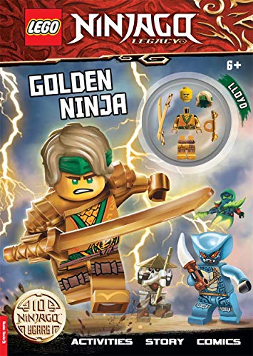 LEGO® NINJAGO®: Golden Ninja: Activity Book with Minifigure