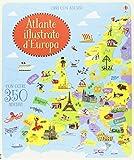 Atlante d'Europa. Con adesivi. Ediz. illustrata