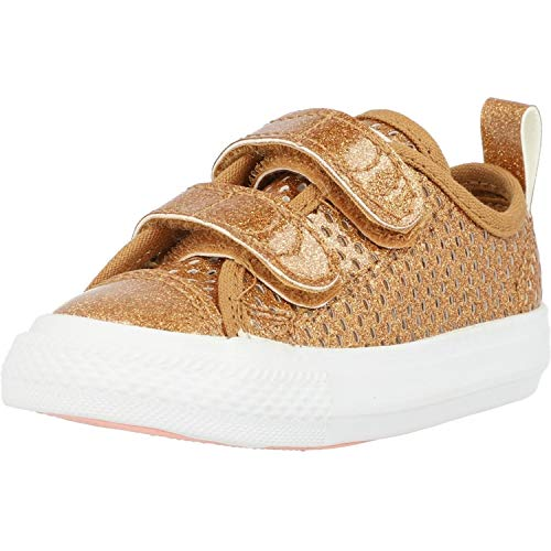 Converse Chuck Taylor All Star 2V Pacific Lights Ox Bronze Synthetic 6 US Infant