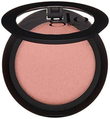 Glo Skin Beauty Powder Blush in Sheer Petal - Shimmery Bronzy Plum - 9 Shades - Cruelty Free, Talc Free Mineral Makeup