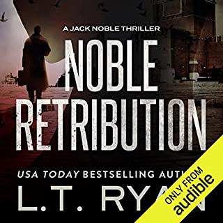 Noble Retribution audiobook cover art