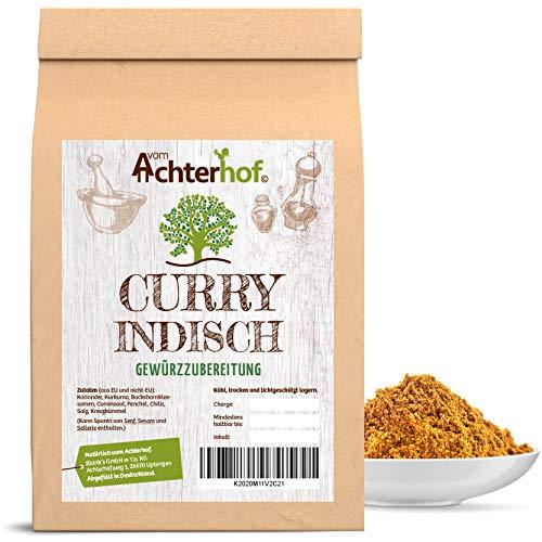 500 g Curry Pulver Indisch Madras Currypulver mild vom-Achterhof Gewürze Kräuter