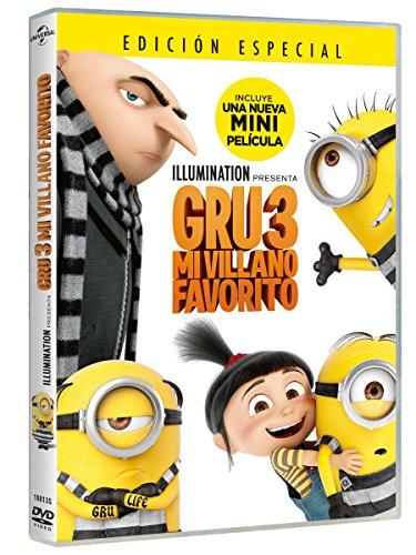 Gru 3: Mi Villano Favorito [DVD]