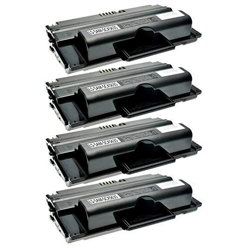 4 Toner kompatibel zu Samsung SCX-5635FN HN SCX-5638FN SCX-5835FN NX 5800 Seires SCX-5935FN NX 5900 Series - MLT-D2082L/ELS - Schwarz je 10.000 Seiten