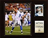 C & I Collectables NFL Matt Stafford Detroit Lions Spieler Plaque -