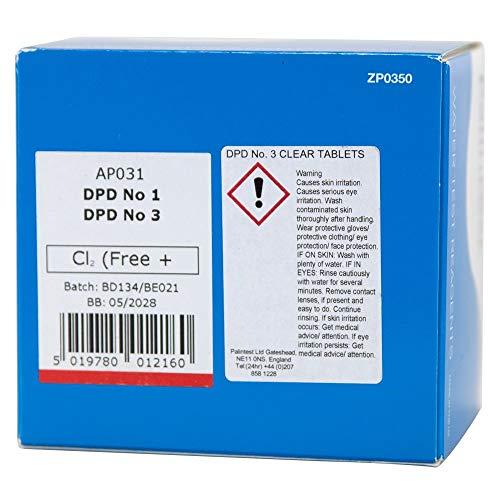 Chloor DPD 1 & 3 (gratis), 250 tabletten