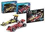 Juego Supersport Race Car 3 en 1, 295 Piezas (Compatible con Lego Technic, como 42026 o 42033), C52017W C52016W