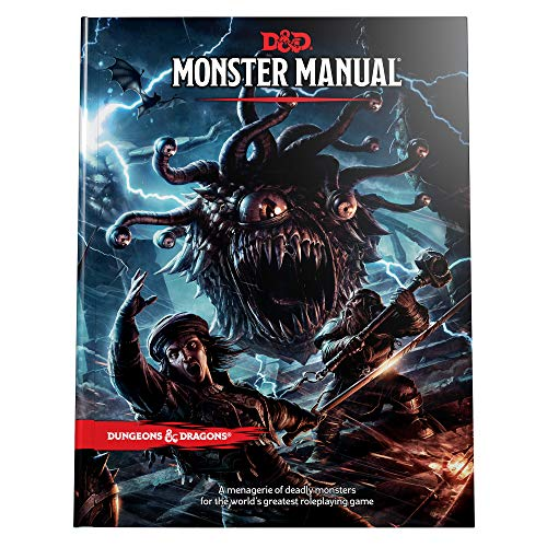 Dungeons & Dragons Monster Manual (Core Rulebook, D&D Roleplaying Game)