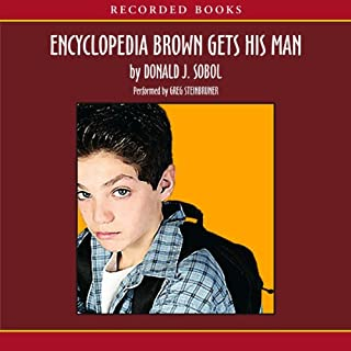 Encyclopedia Brown Gets His Man cover art