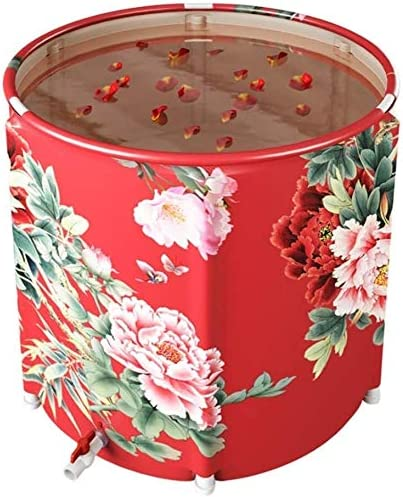 Bath Large special price !! Tub Portable Immersion Type Free Standing Foldable Direct store
