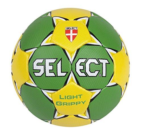 SELECT Handball Light Grippy - Astro Ball de fútbol, Color Verde, Talla 1