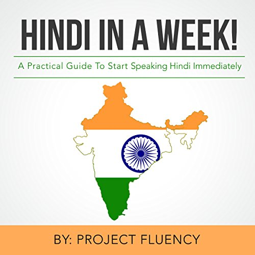 Hindi in a Week! audiobook cover art