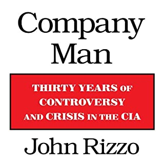 Company Man audiobook cover art
