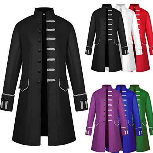 ULLAA Cosplay Disfraz Medieval Aristocracy Robe Coat Halloween Carnaval Ropa