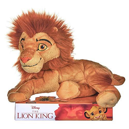 Disney 375 37287 Plüschtier, Motiv: Simba aus König der Löwen, 25,4 cm, in Geschenkbox
