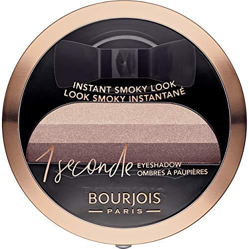 Bourjois Lidschatten, 1 Sekunde Eyeshadow – Smoky einfach und intensive Farbe – 08 Magni-Figur, 3 g