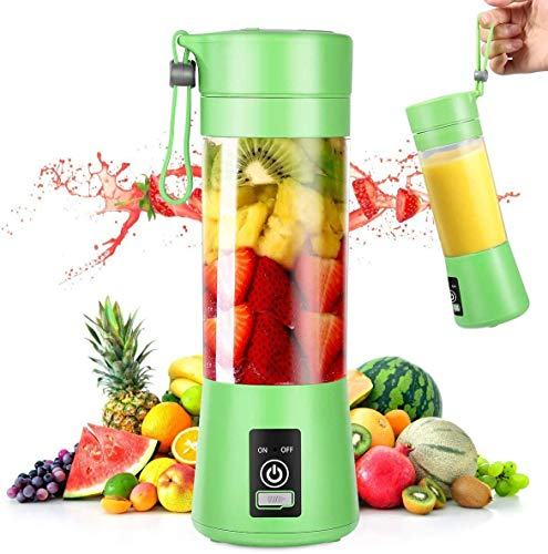 Portable Blender, Personal Mini Blender for Smoothies and Shakes, Handheld Juicer Machine