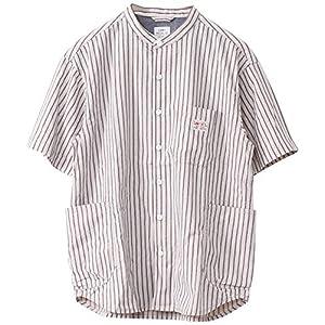 (コーエン) COEN SMITH'S別注バンドカラー半袖シャツ# 75156030026 9170 その他1(91) LARGE