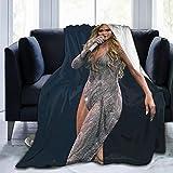 RochelleMelville Ultra-Soft Decorative Couch Travel Office Blanket Jennifer Lopez Throw Blanket 50'x40'