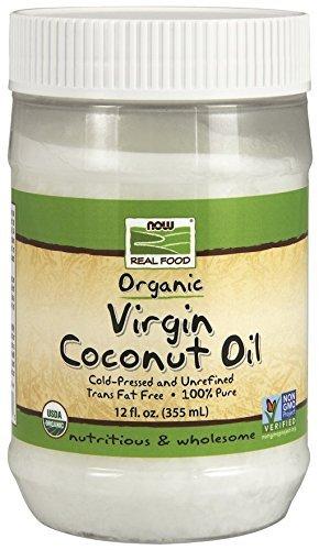 Now Foods Organic Coconut Oil Standard - 355 ml