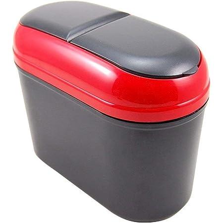 Mishrit Mini Car Trash Bin Car Interior Accessories Car Dustbin Garbage Storage Box Universal Size, Fits in All Cars, Assorted (1 Pic).