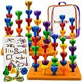 Twinkle me Pegs Board Game Set Jumbo Pack |...