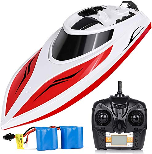 Our #4 Pick is the INTEY H102 20+ mph Remote Controlled RC Boat