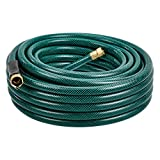AmazonBasics Garden Tool Collection - Water Hose with Brass Coupling 75ft, 5/8'', 300psi