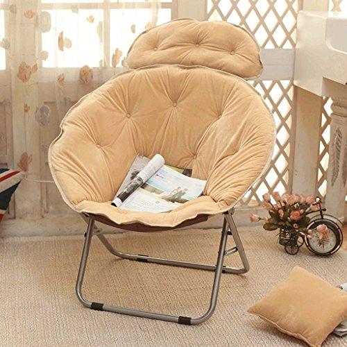 Jack Mall Chaise de Chaise Longue/Chaise d'après-midi/Plate-Forme Pliante/Chaise arrière/canapé-lit (Couleur : Kaki)