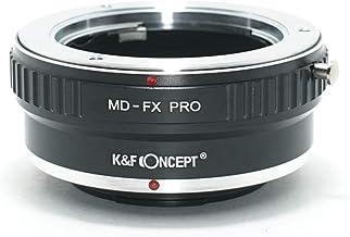 [正規代理店]K&F ミノルタ MDマウント-フジX FX マウントアダプター PRO レンズクロス付 md-fx-pro (KFFXPRO)
