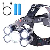 Headlamp 12000 Lumen Ultra Bright...