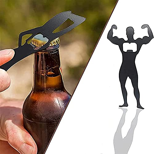 2021 New Sexy Man Woman Silhouette Bottle Opener - Silhouette Funny Metal Bottle Opener, Distinctive Style Bottle Openers use for Outdoor Campaign Bar Restaurant (A)