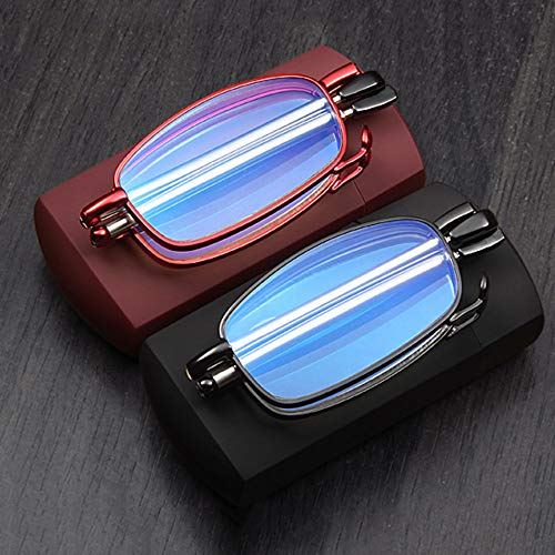 Anti Luz Azul Gafas de Lectura, Plegables Gafas para Leer, Portátiles Gafas...