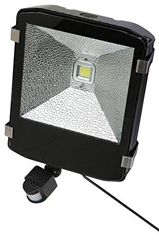 Kerbl Projecteur extérieur LED avec détecteur de Mouvement