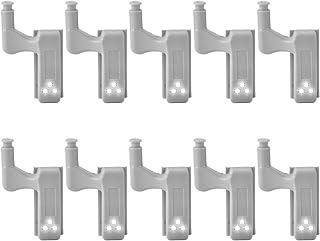 10 unidades de detector de movimiento de bisagra con luz