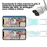 Zoom IMG-1 telecamera di sorveglianza 1080p wifi