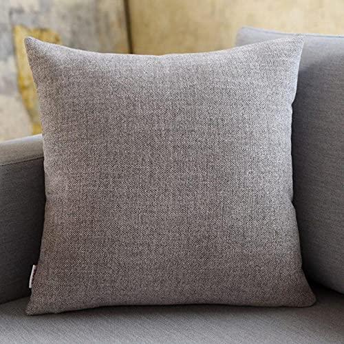 Almohada Ergonómica para Dormir en Diferentes Posturas (Lado, Espalda o Estómago) -Café Gris_50 * 50cm